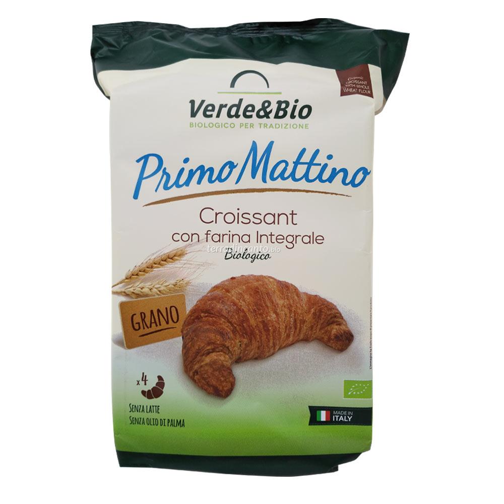 Croissant vegano con farina integrale VERDE&BIO 160g