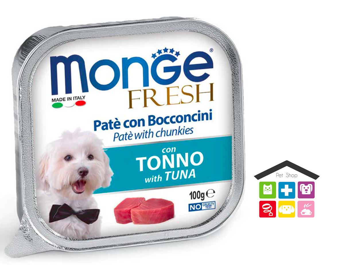 Monge fresh Paté e Bocconcini con Tonno 0,100g