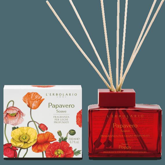 Papavero soave Fragranza per Legni Profumati 200 ml
