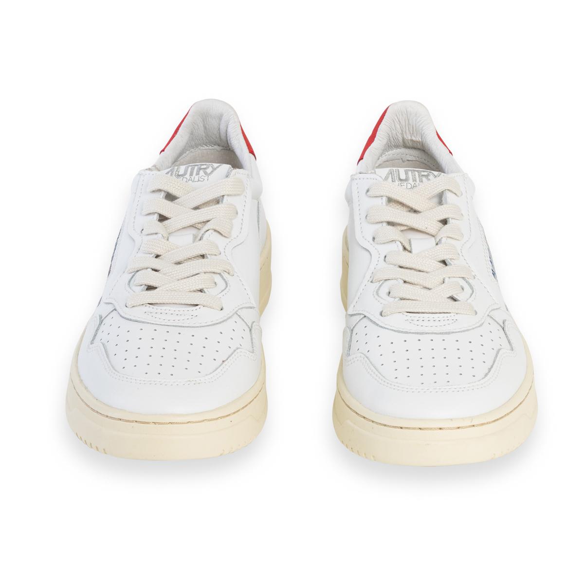 Sneaker Autry Bianca Logo Bianco