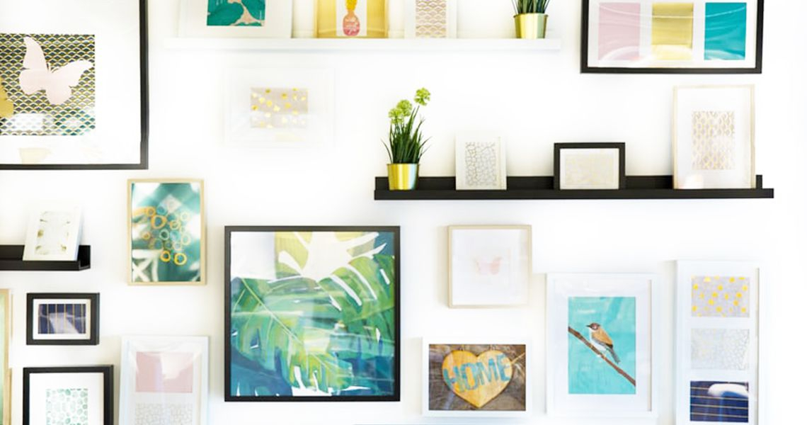 Where to hang the paintings