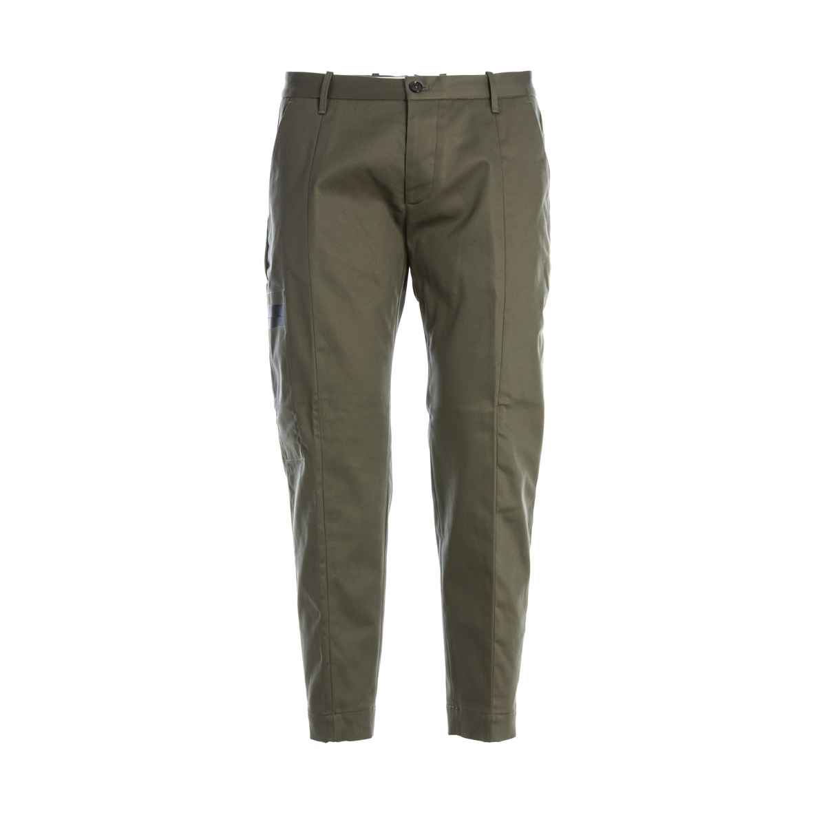 Pantalone Cargo Nine in the Morning Verde militare modello Carrot
