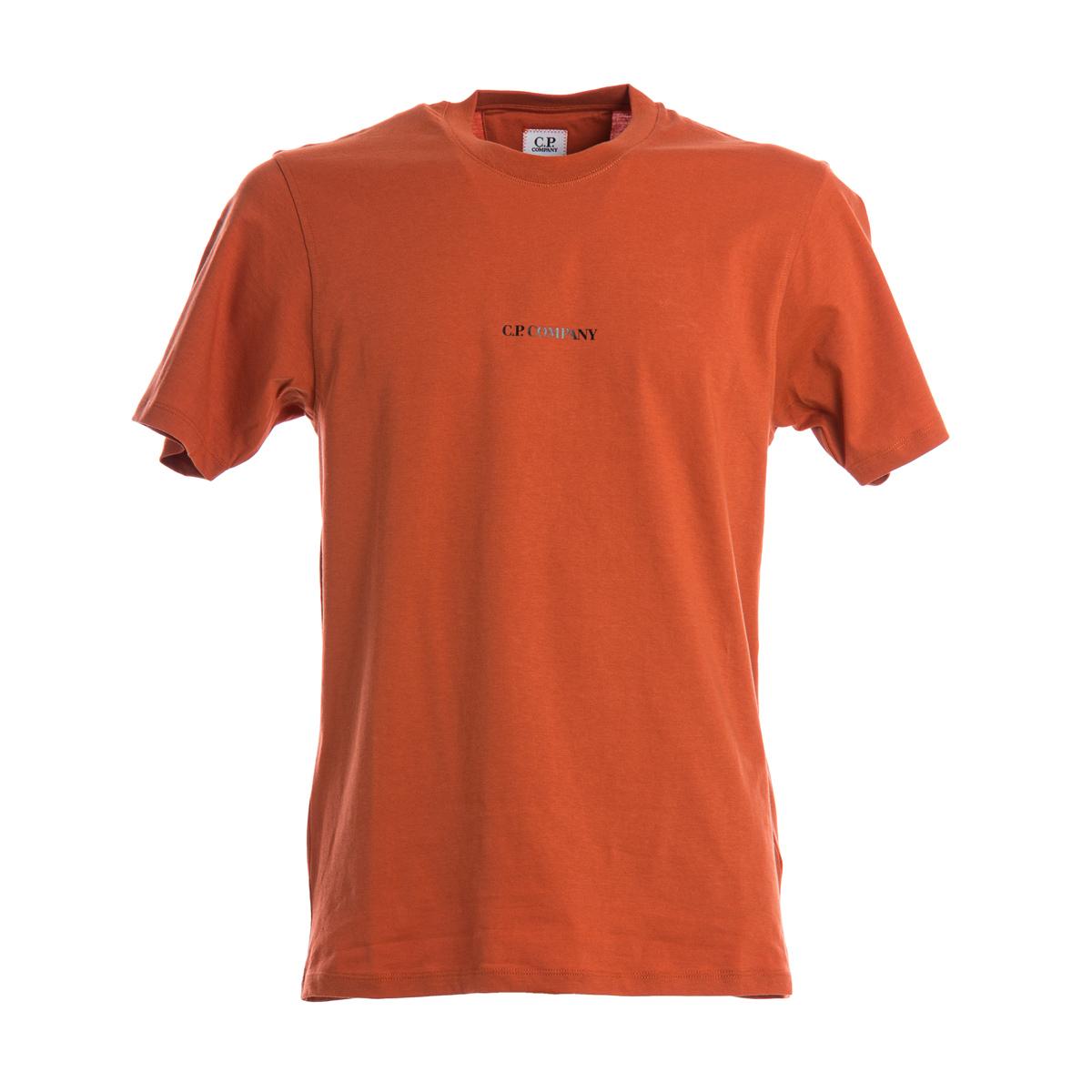 T-Shirt C.P. Company Arancione
