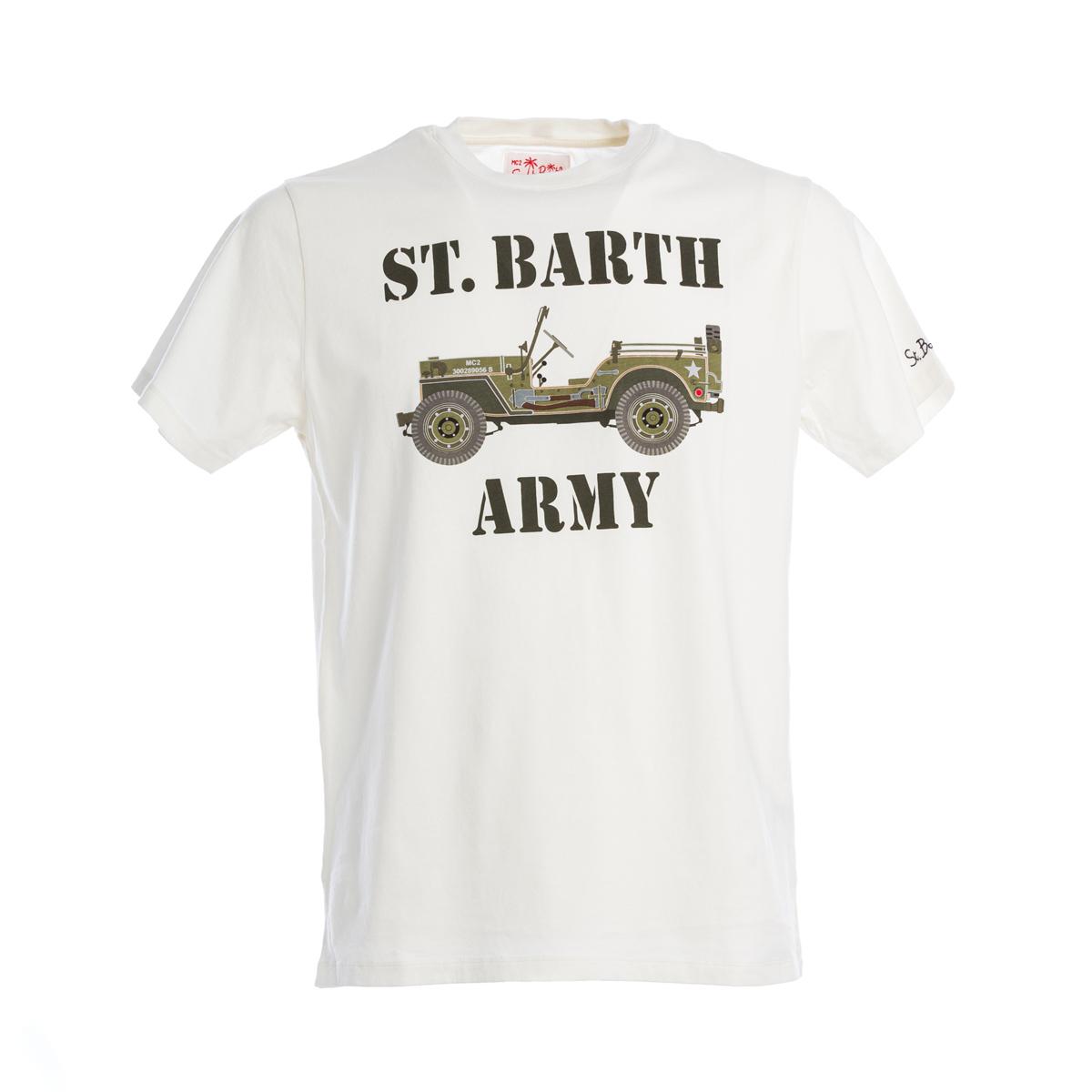 T-Shirt St. Barth Army