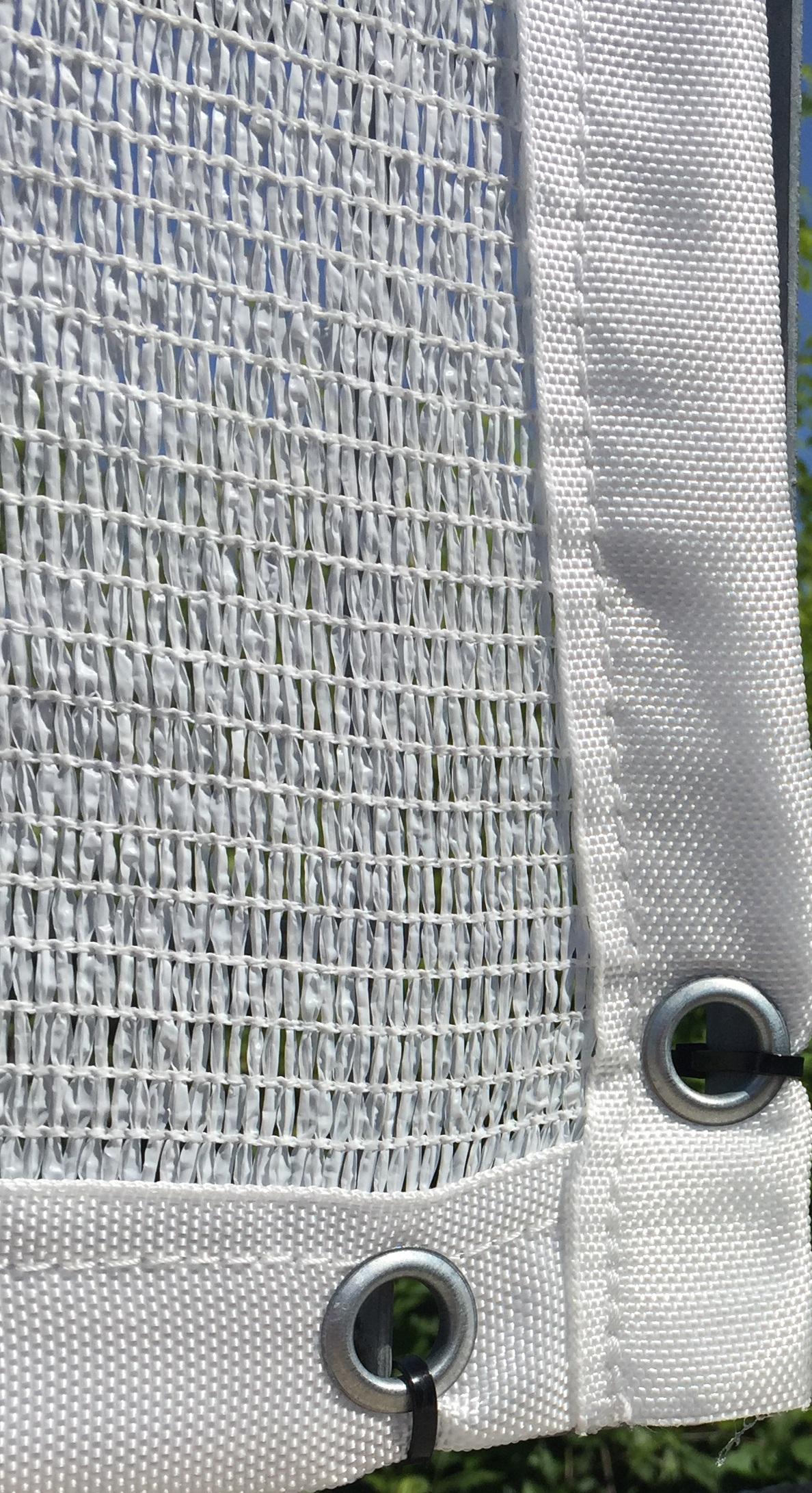 Bordatura di rinforzo per teli