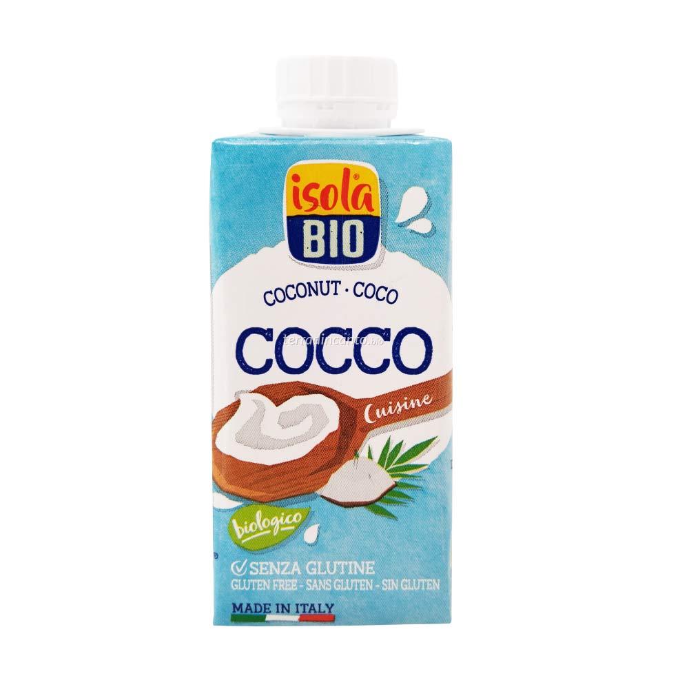 Crema di cocco da cucina Isola bio