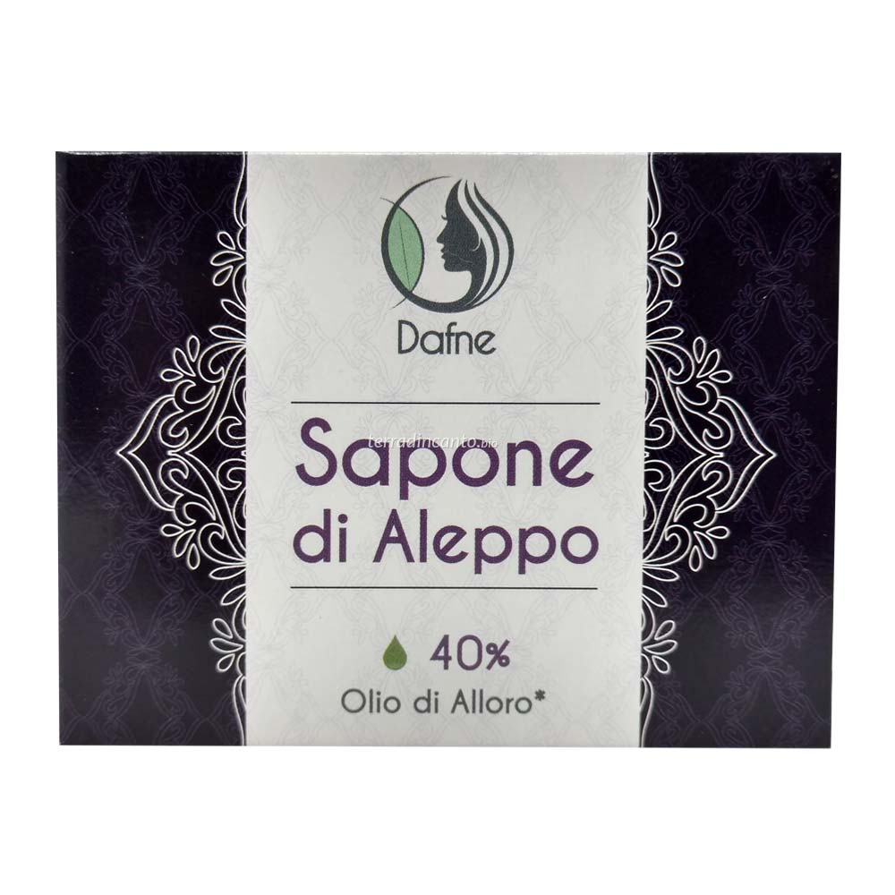 Sapone di aleppo 40% olio di alloro Dafne