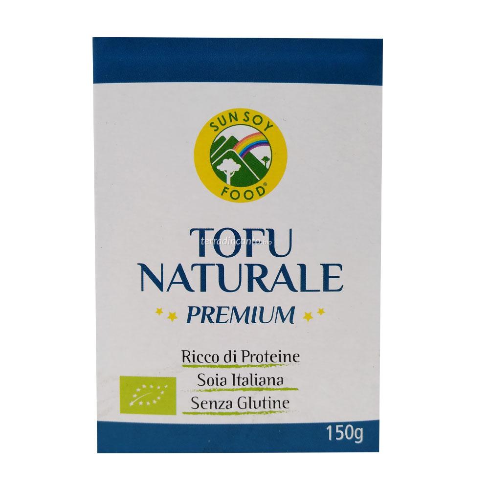 Tofu naturale premium Sun soy food
