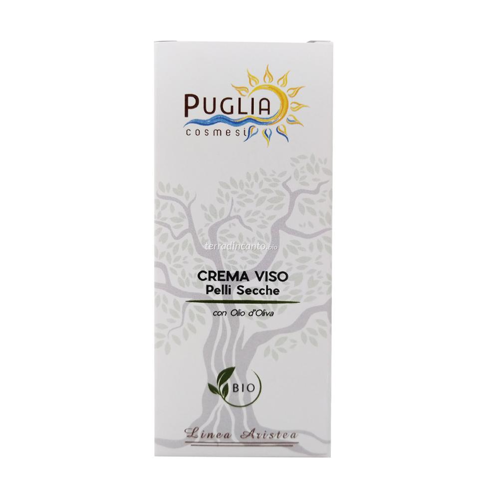 Crema Viso Pelle secca e sensibile 50 ml Puglia Cosmesi