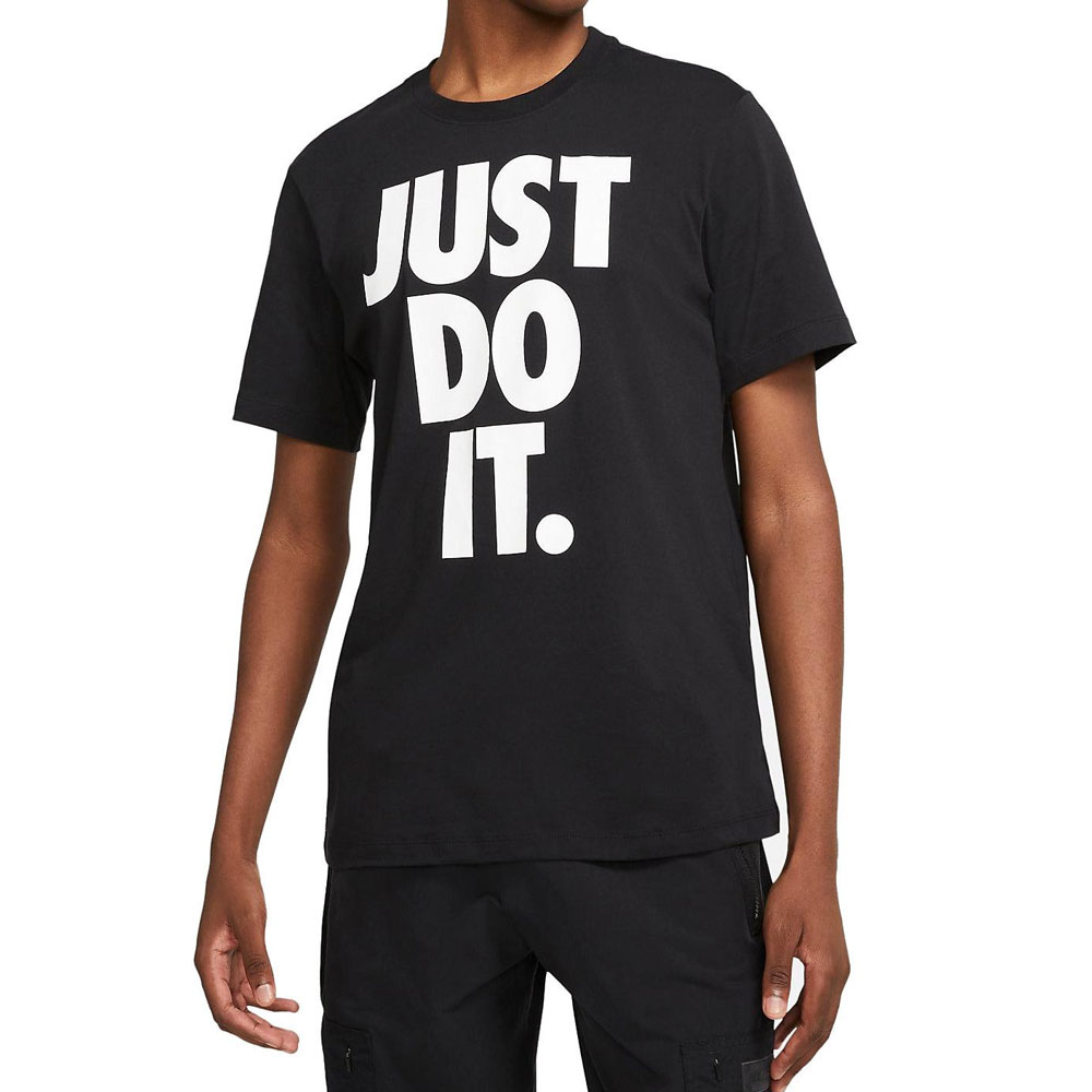 Nike T-Shirt Just Do It Nera da Uomo
