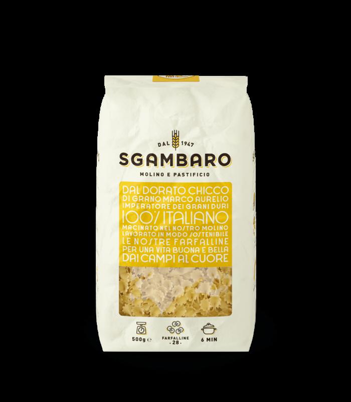 SGAMBARO Pasta Farfalline N°28 GR.500