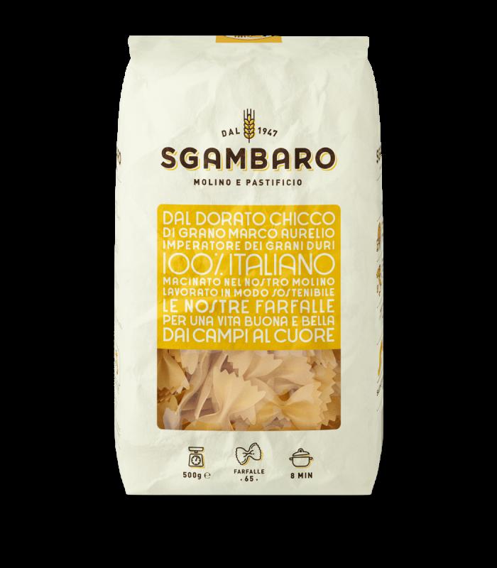 SGAMBARO Pasta Farfalle N°65 GR.500