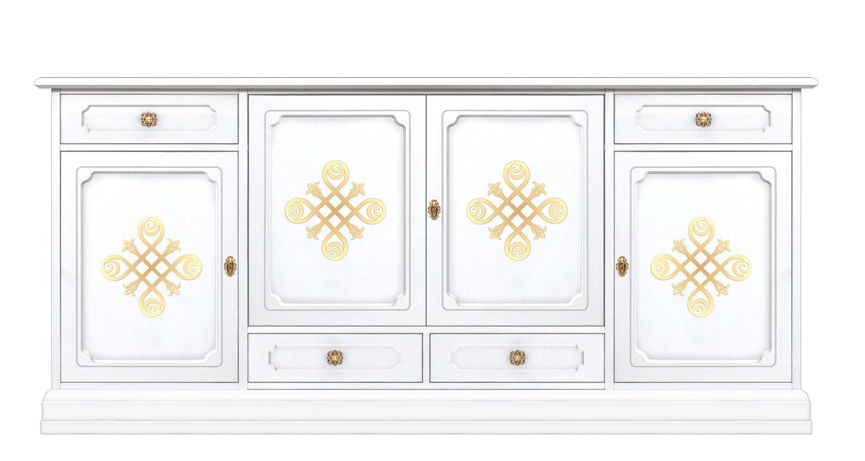 Lacquered 2 meters sideboard 'YOU'