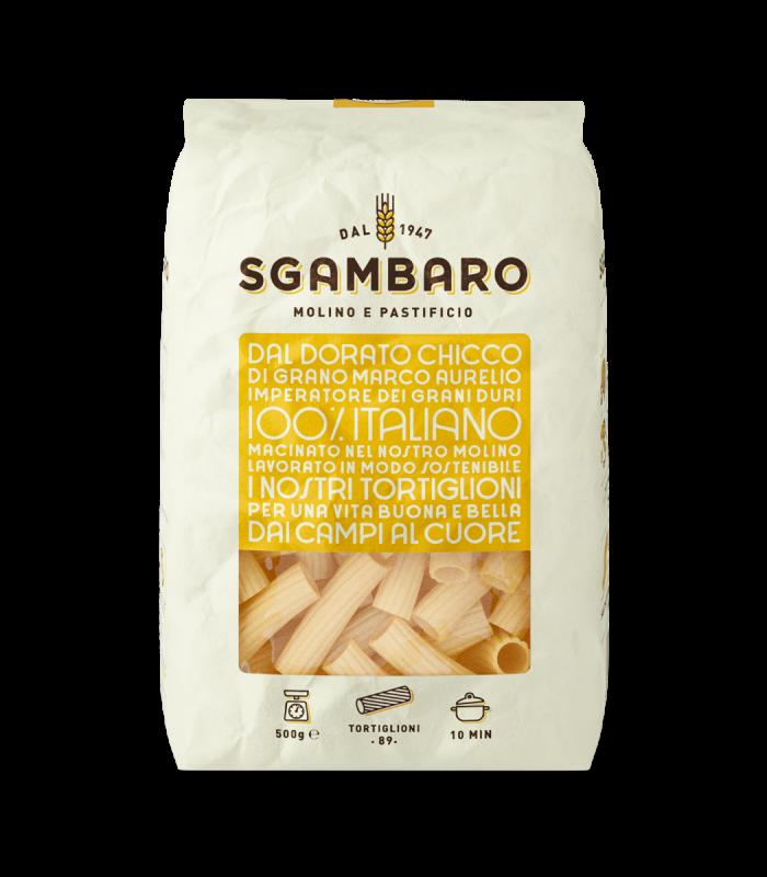 SGAMBARO Pasta Tortiglioni N°89 GR.500
