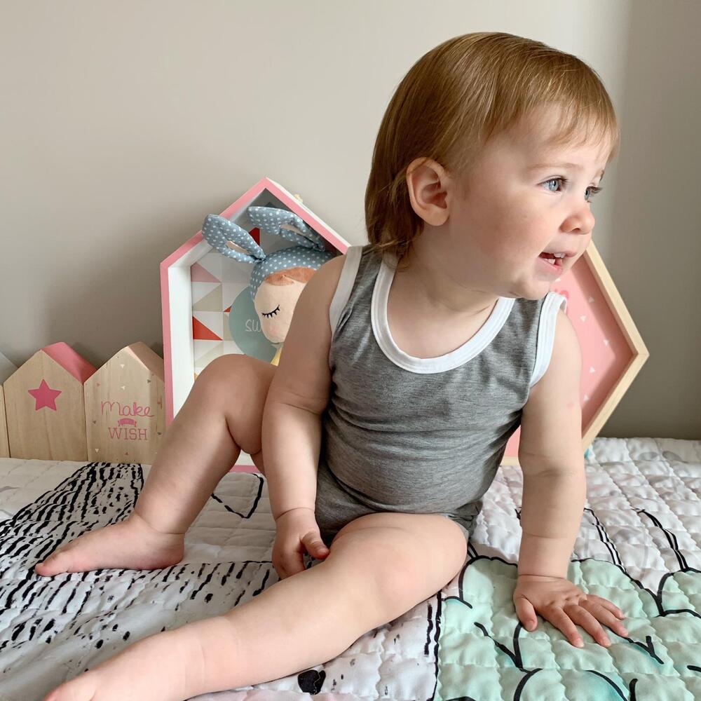 Ri-Body evolutivo senza maniche 0-12 mesi