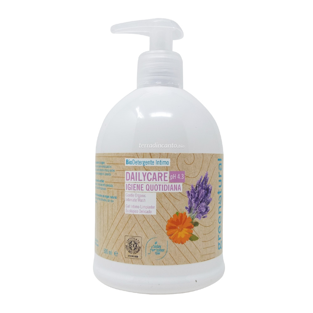 Detergente Intimo pH 4.3 Green Natural