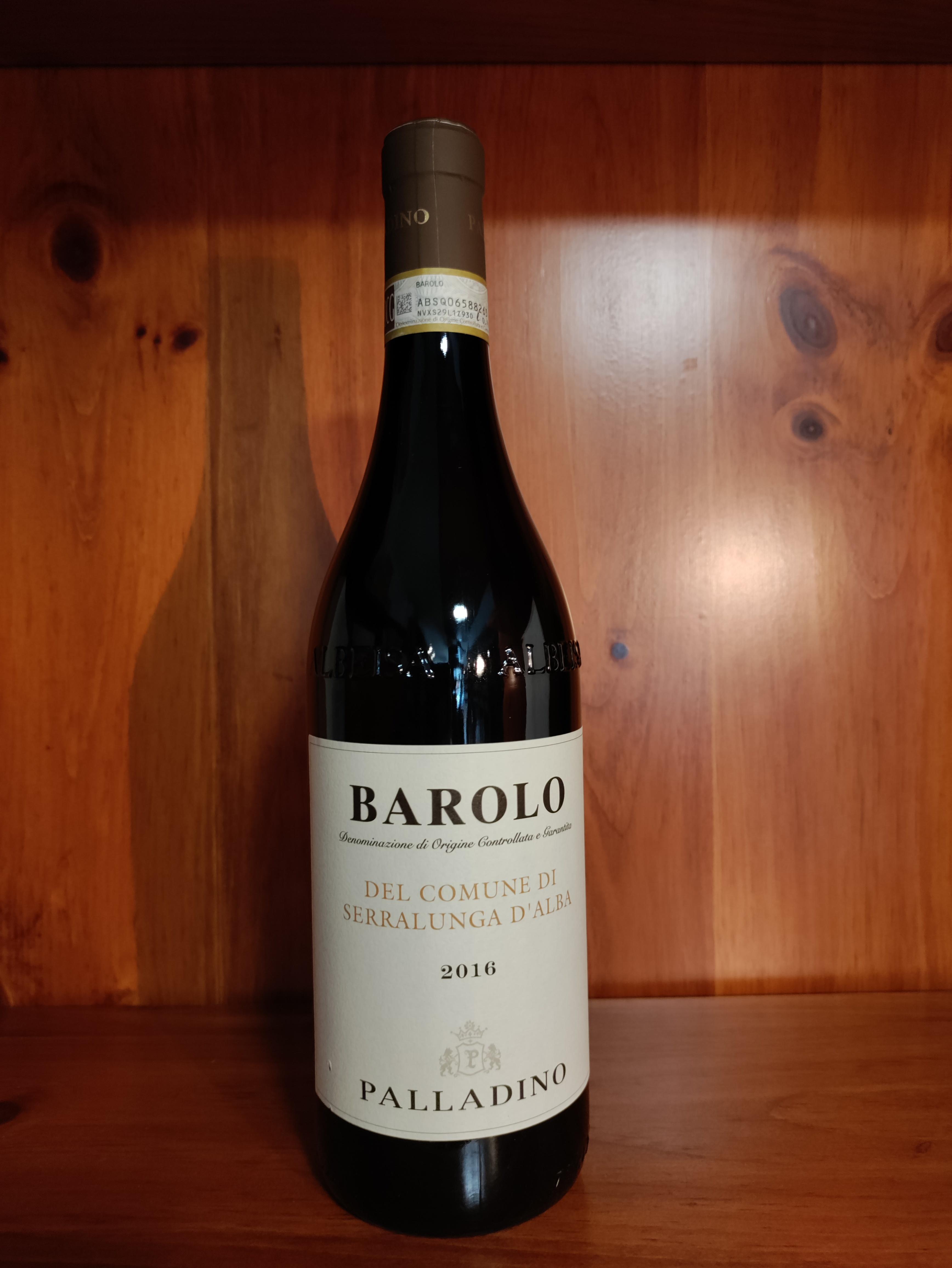 Barolo DOCG 2016 Del Comune di Serralunga D'Alba - Palladino