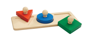PLAN TOYS Shape Matching Puzzle – Puzzle Forme
