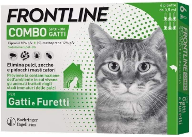 FRONTLINE COMBO PER GATTO 6 FIALE SPOT-ON