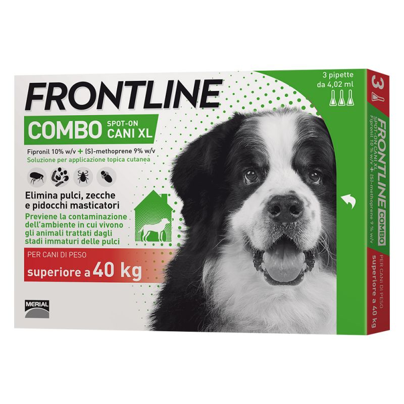 FRONTLINE COMBO PER CANE 40-60KG 3 FIALE SPOT-ON