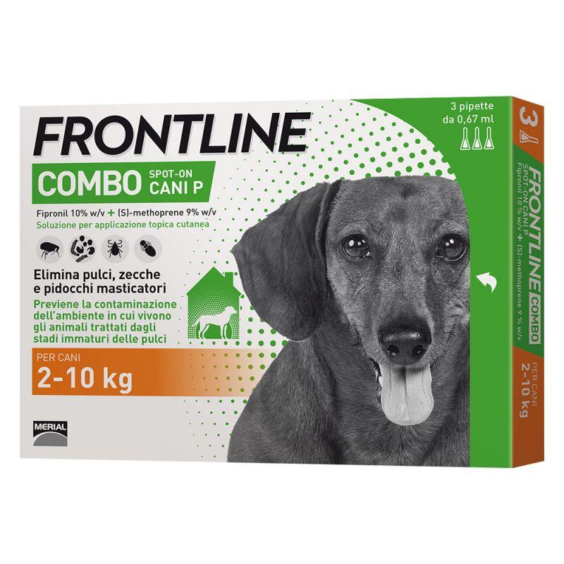 FRONTLINE COMBO PER CANE 2-10KG 3 FIALE SPOT-ON