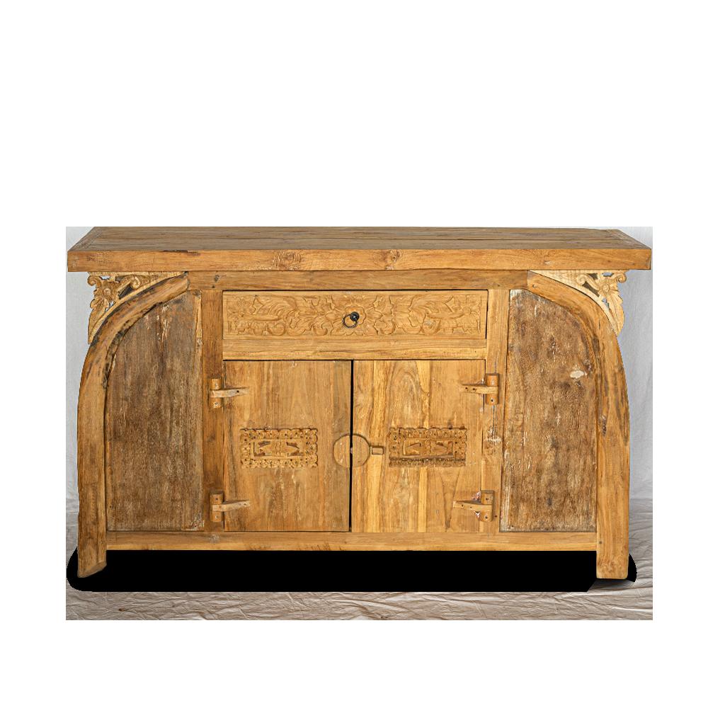 Buffet in legno di teak recuperato