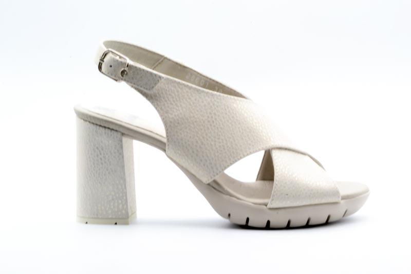 NOVITA' P/E 2021 Callaghan Calzatura Donna-Togo Platino Wendy 28601
