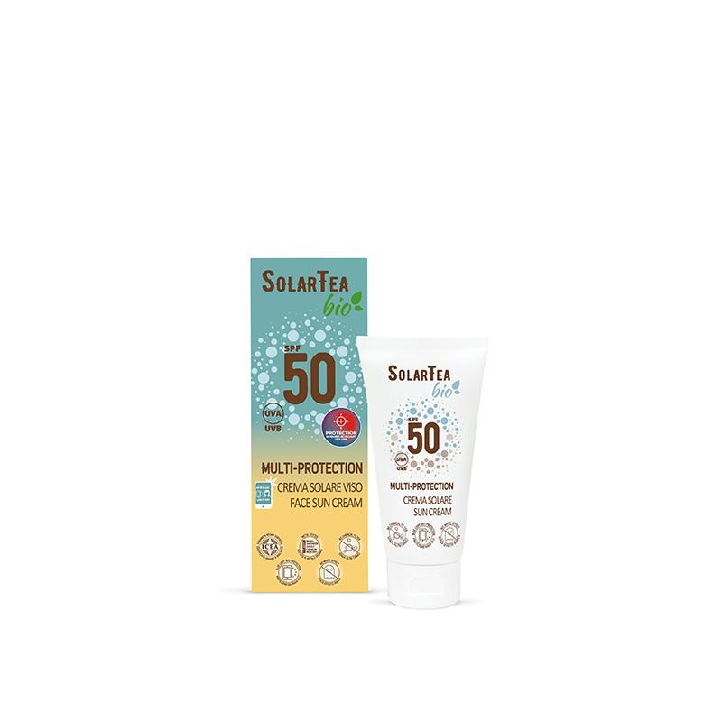 Solar Tea Crema Multiprotezione Viso 50