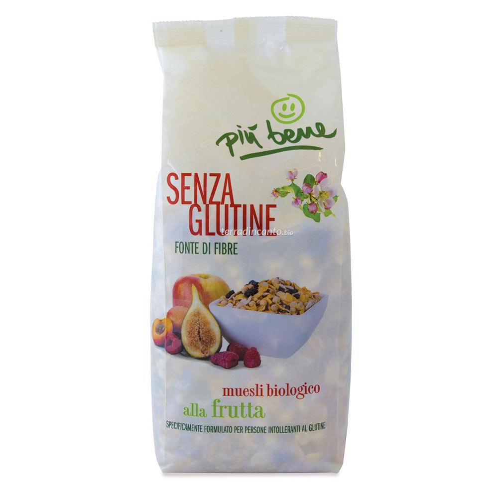 Muesli alla Frutta s/glutine Più Bene 325 gr