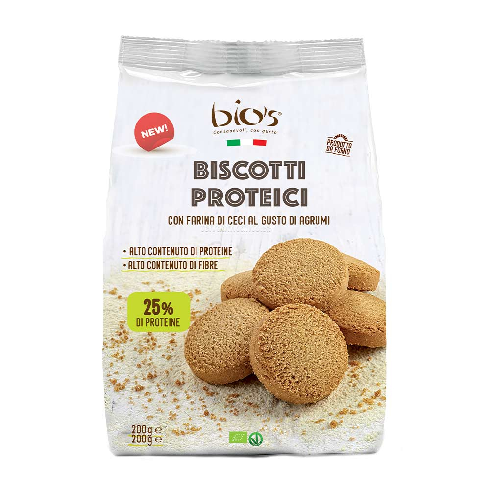 Biscoti Proteici agli Agrumi Bio's 200 gr