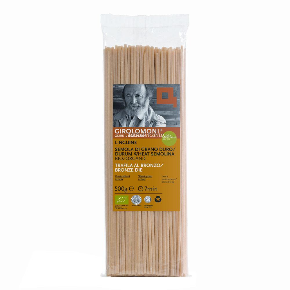Linguine di Grano Duro 500 gr Girolomoni