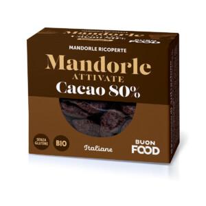 Mandorle Attivate e Cacao 80%