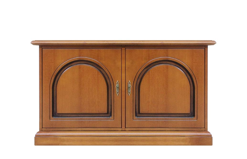 Niedrige Anrichte im klassischen Stil - 2 Türen