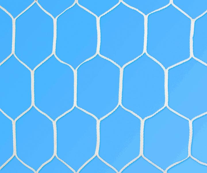 Rete per porte da calcio di dimensioni ridotte (maglia esagonale) 4,00 × 2,00m, Ø 3,0mm