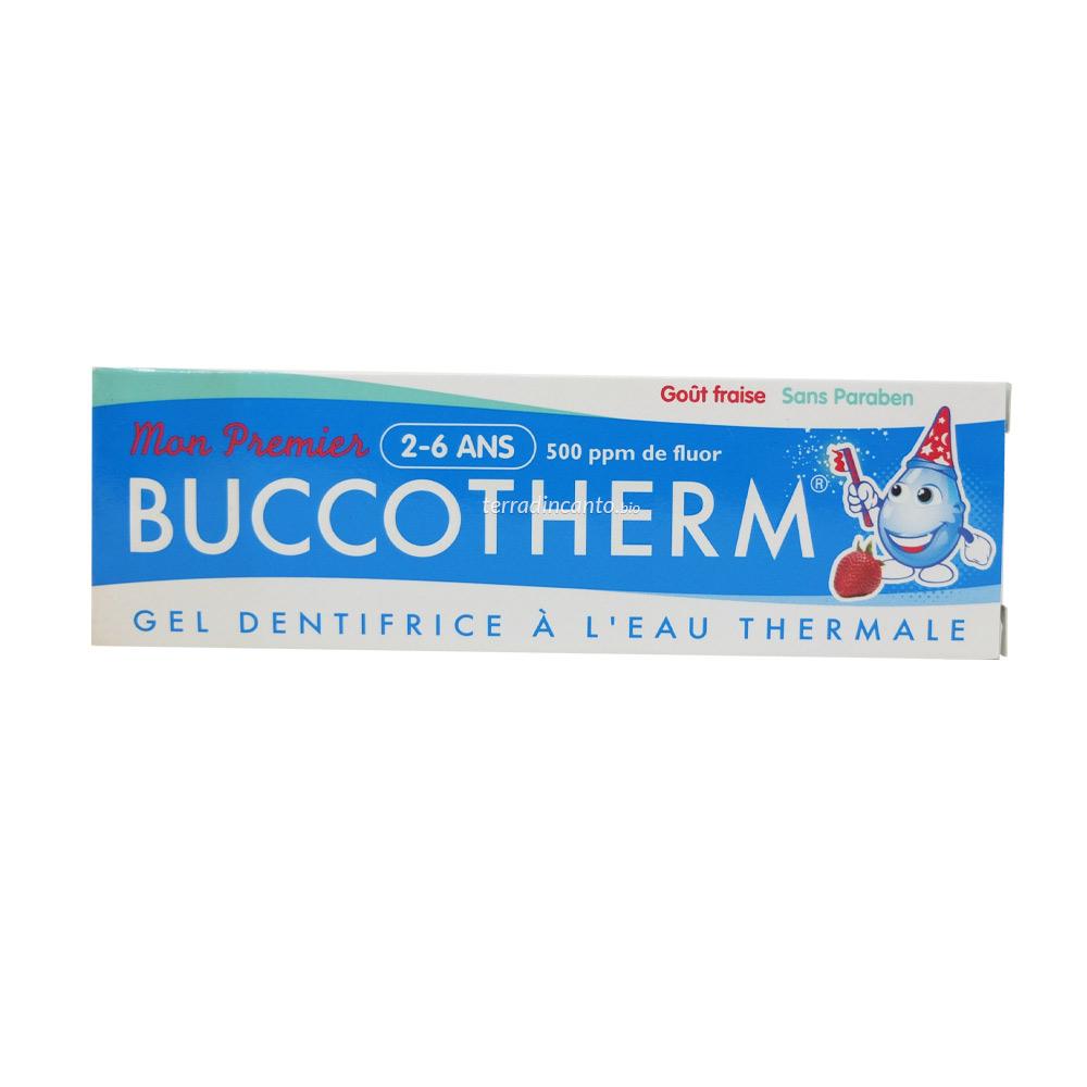 Dentifricio Bio alla Fragola 2-6 Anni Buccotherm 50 ml