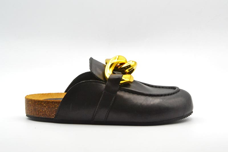 NOVITA' P/E 2021 Crown Calzatura Donna-Sabot JW Nero
