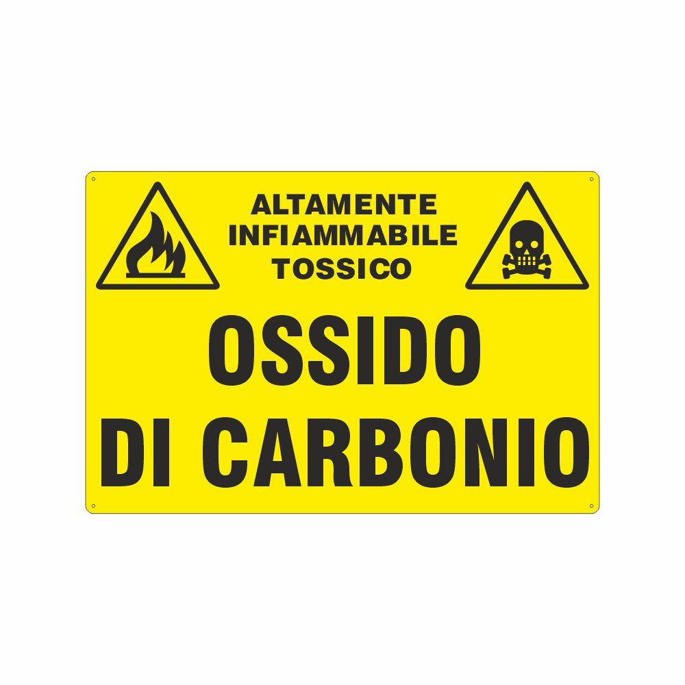 Cartello Ossido di carbonio