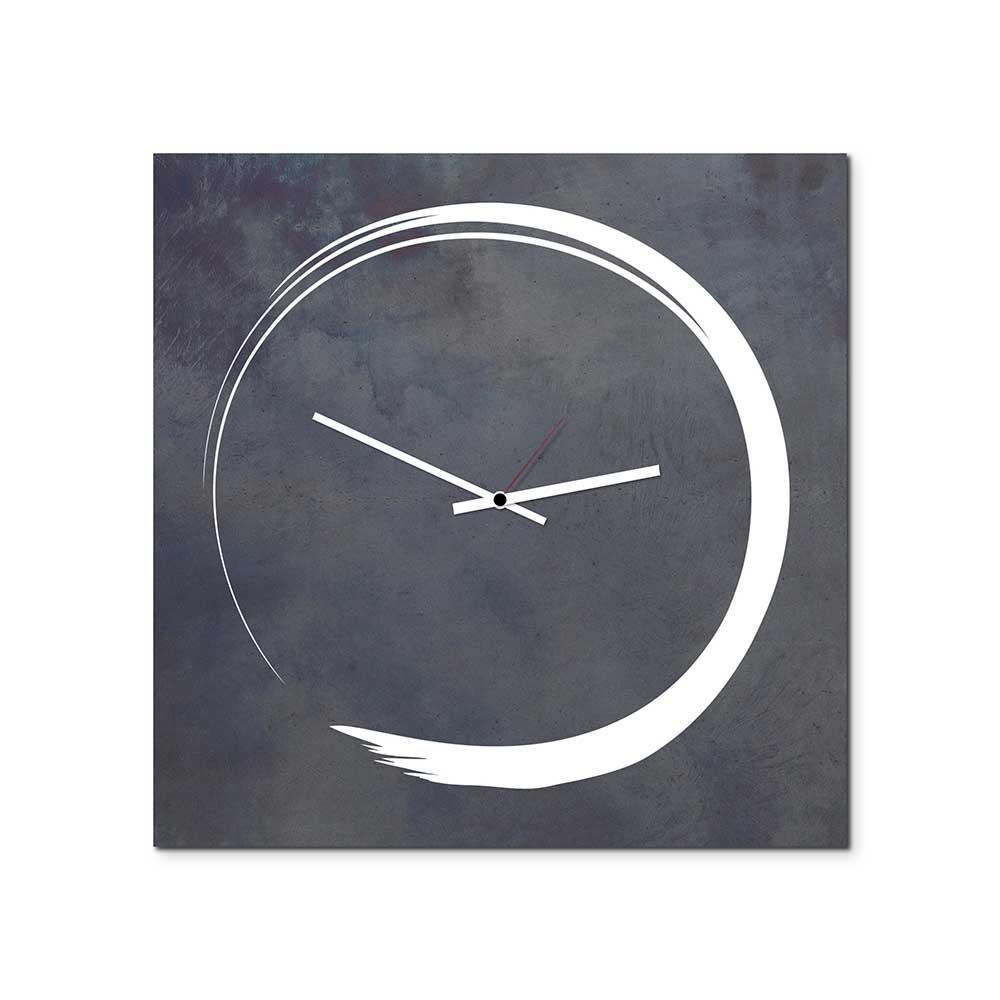 Orologio da parete S-Enso Clock in ferro nero vintage 50x50
