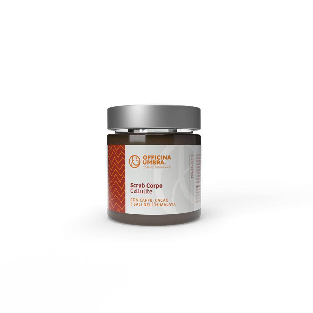 Scrub corpo anticellulite al cacao, caffè e sali dell'Himalaya