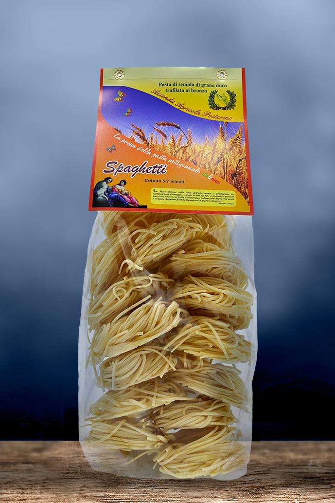 Spaghetti artigianali trafilate al bronzo 100% ita gr 500