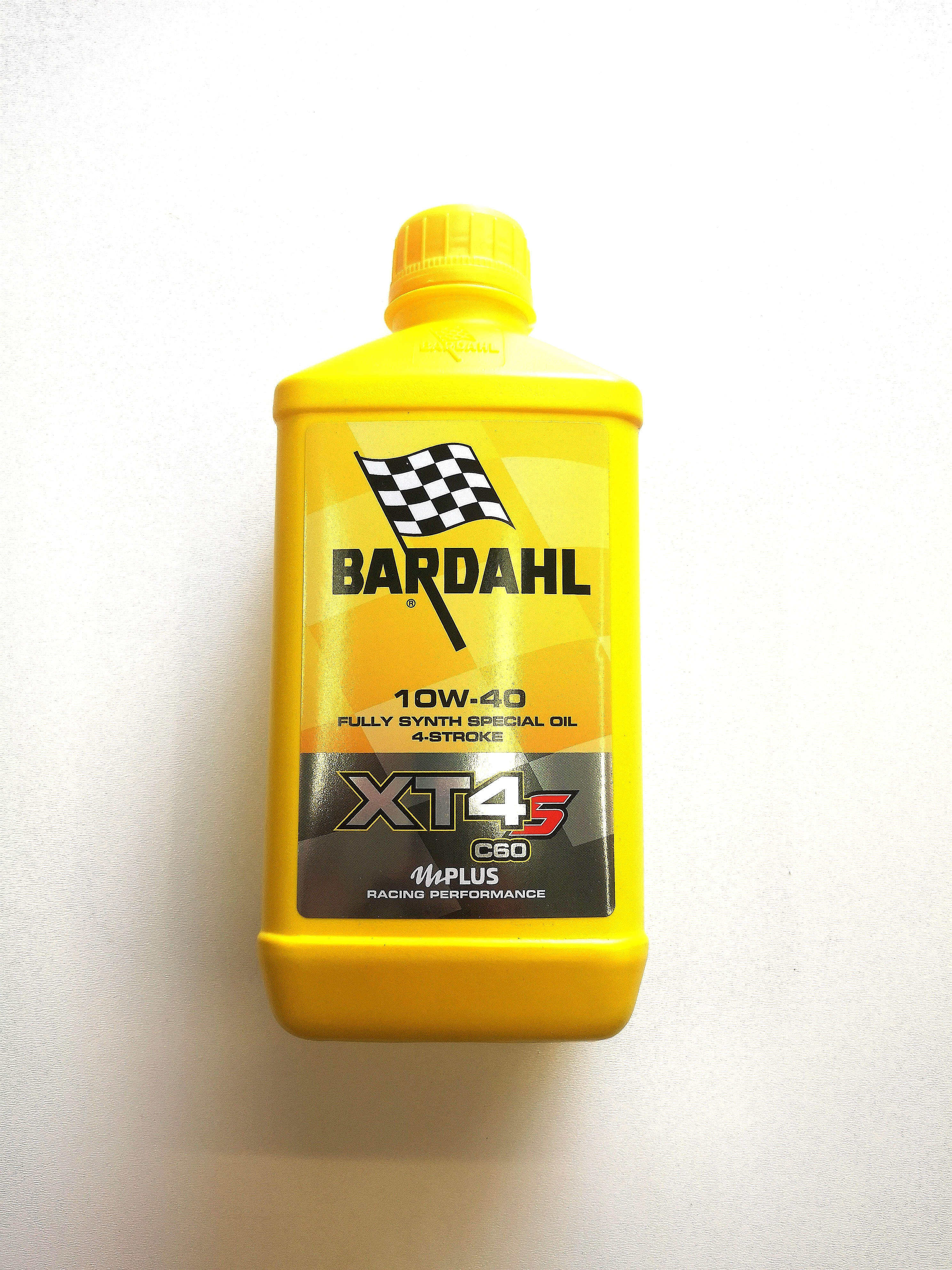 OLIO MOTORE BARDAHL XT-S C60 per MOTO e SCOOTER 4 TEMPI - 100% SINTETICO SAE 10W40