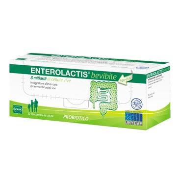 Enterolactis bevibile 12 Flaconcini da 10 ML