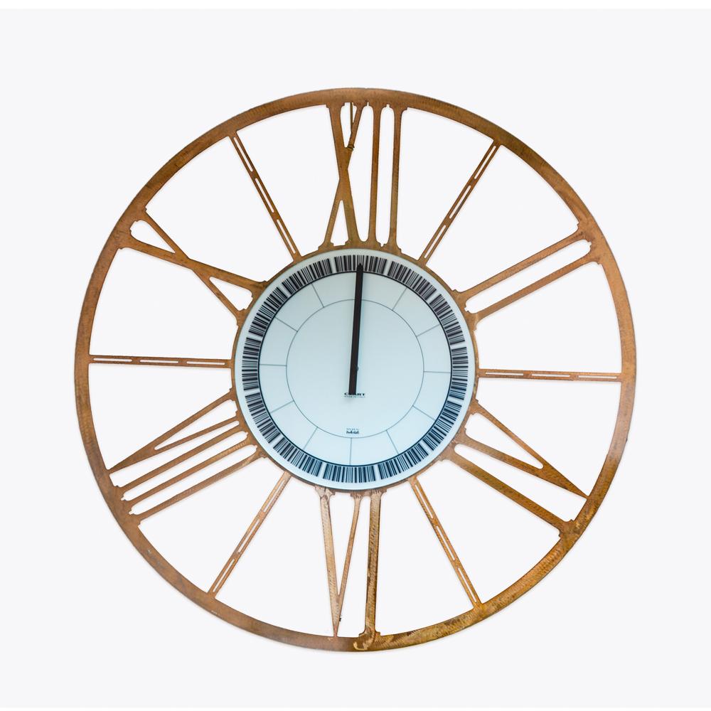Orologio in acciaio della ditta Ceart