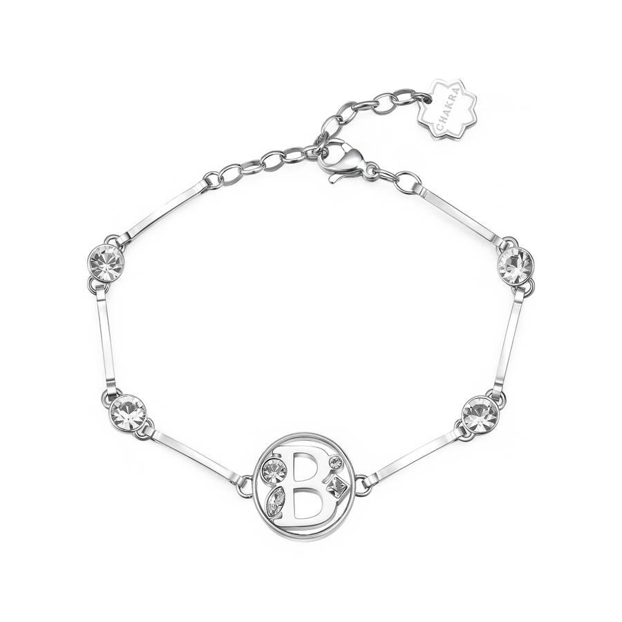 BROSWAY - Bracciale CHAKRA con lettera B