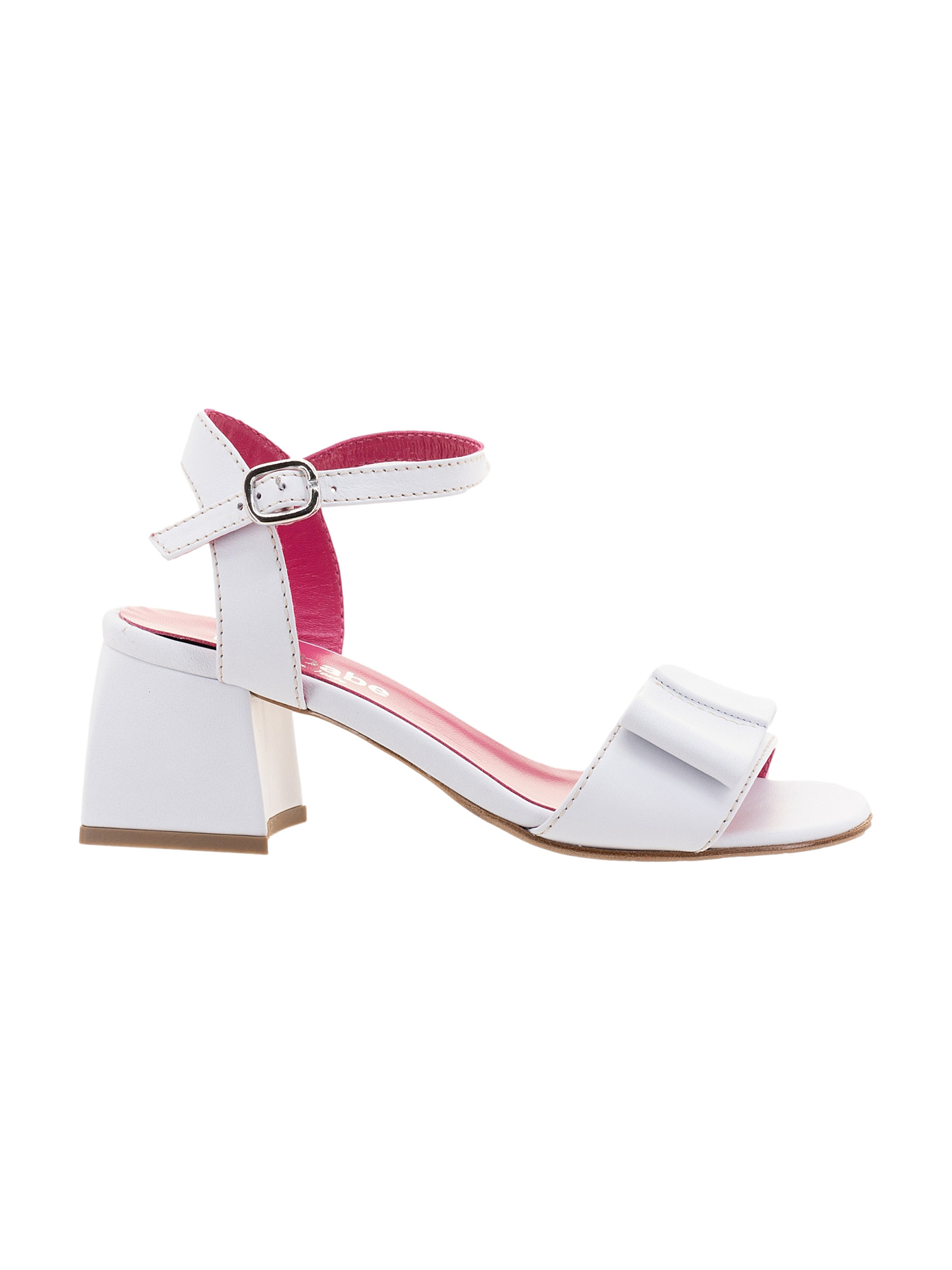 Le Babe Sandalo in Pelle Bianco