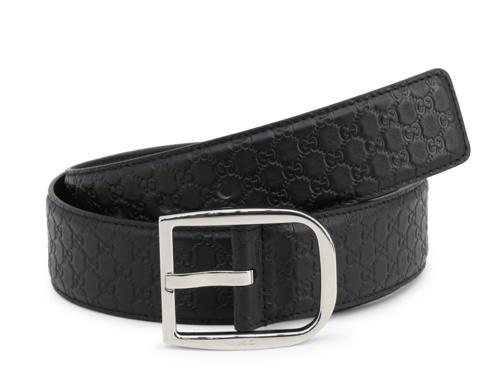 Cintura nera Gucci