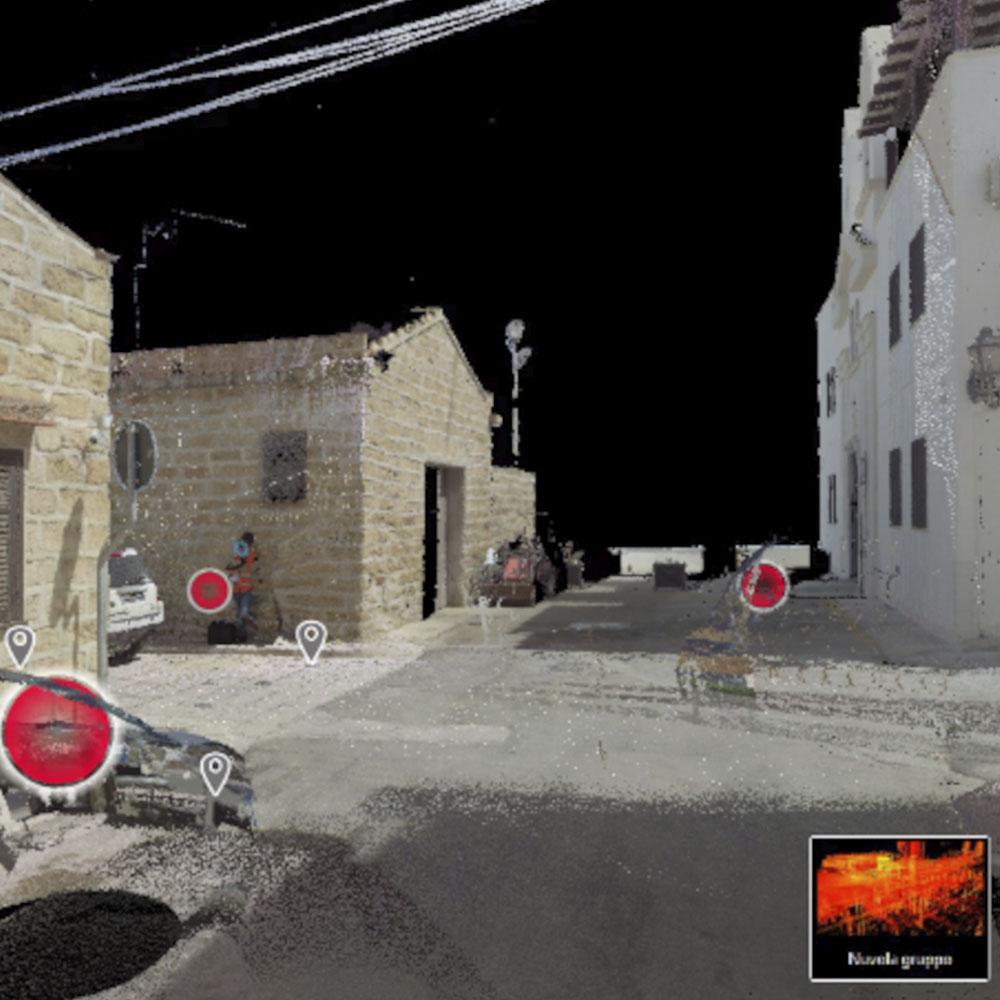 Scansione 3D con laser scanner