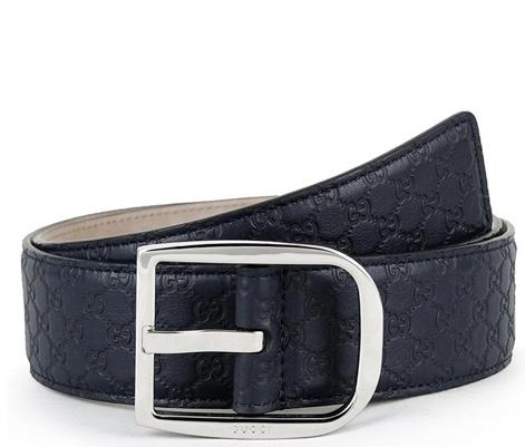 Cintura blu Gucci