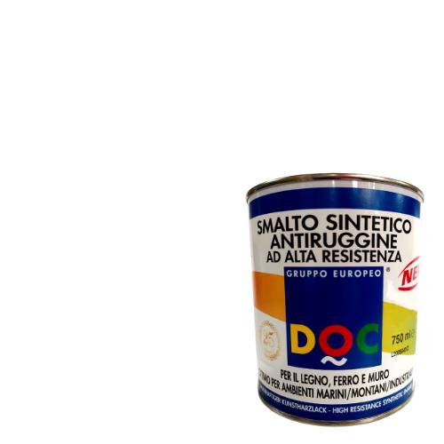 SMALTO SINTETICO BIANCO SATINATO PER INTERNO ED ESTERNO