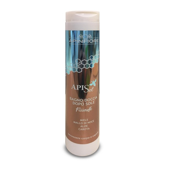 Apinfiore, APISOL shampoo doccia doposole  250ml